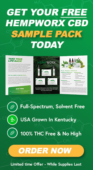 Get Your Free HempWorx CBD Sample Pack Today